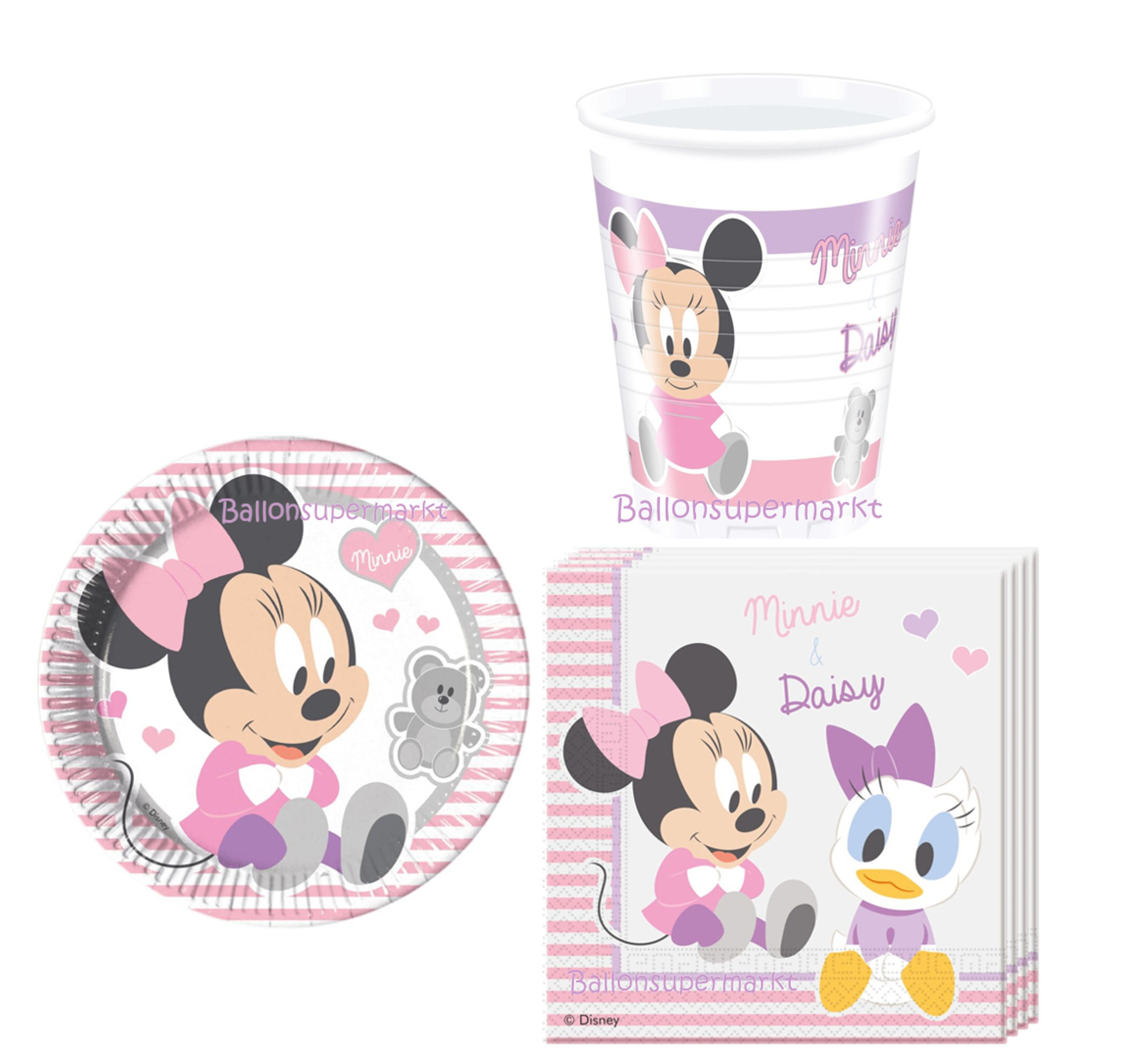 babyparty-babyshower-deko-set-rosa